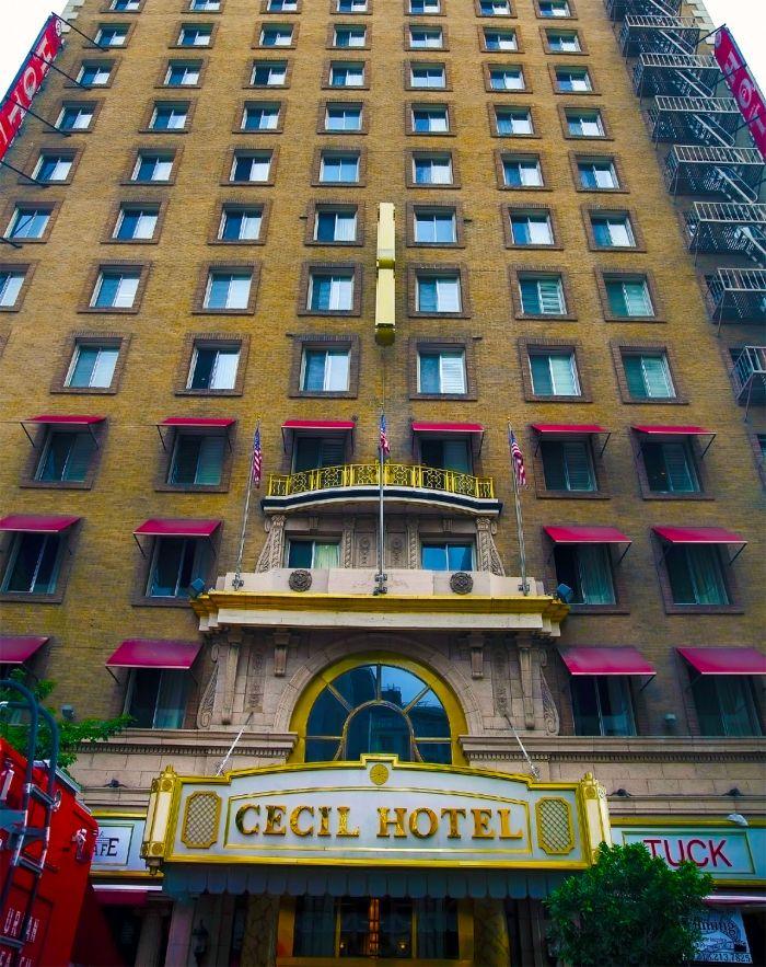 Cecil Hotel.
