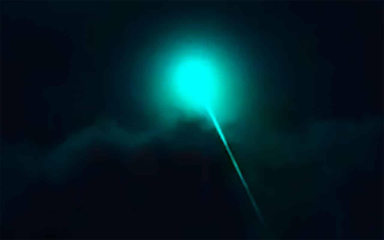 The UFO Laser Beam Paralysis Of Denise Bishop