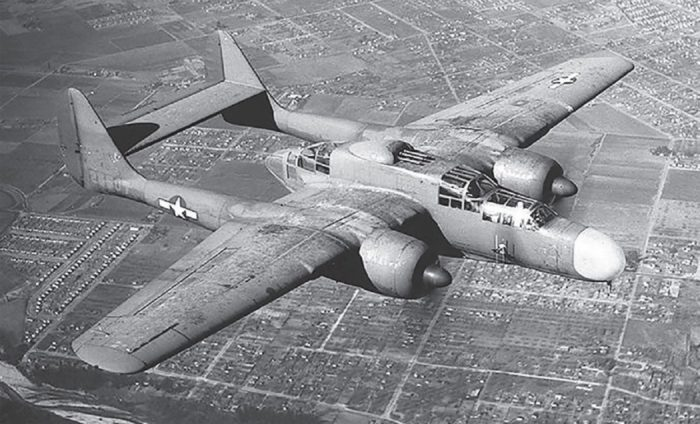 A typical world war two bomber