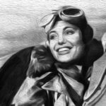 WWII female fighter pilot.