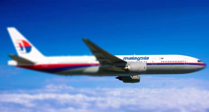 Malaysia Airlines Boeing 777 (MH370).