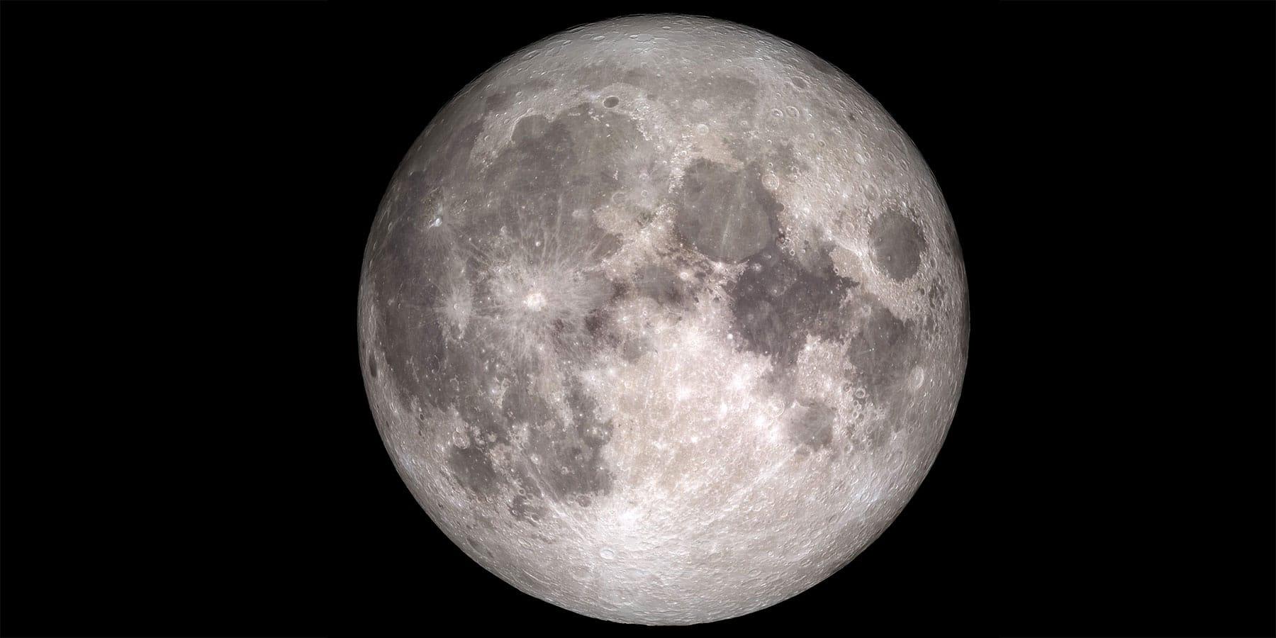 The Moon. Image credit: NASA.