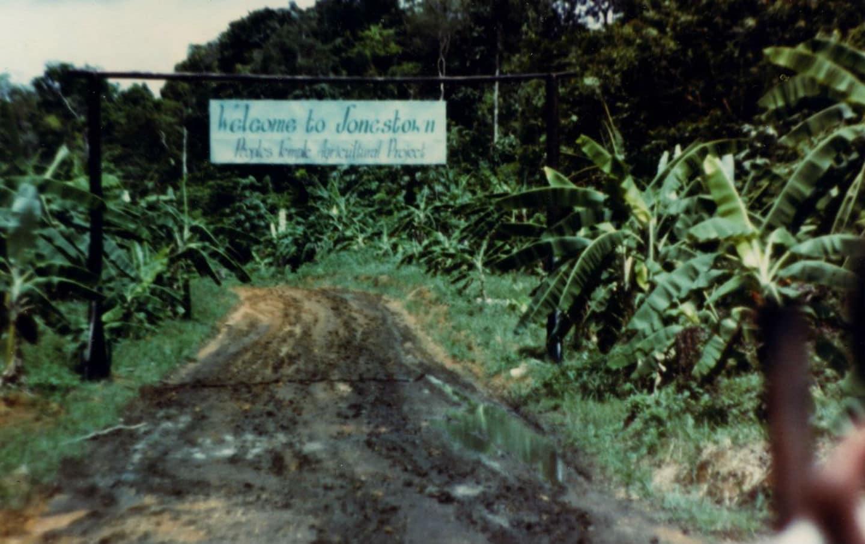 The Entrance to Jonestown