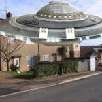 UFO On Housing Estate