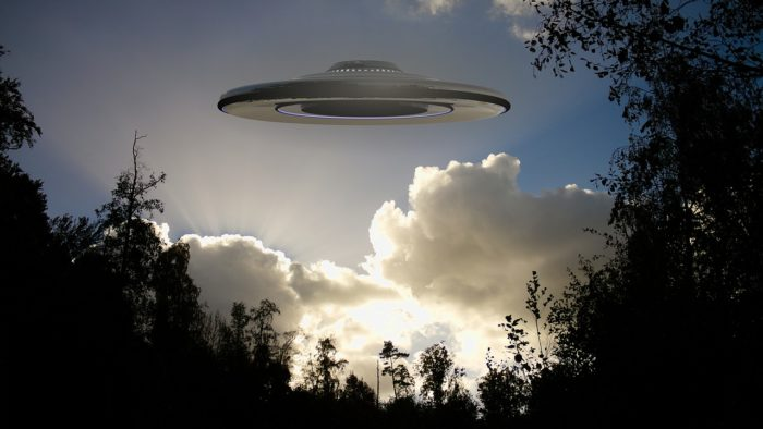 Hovering UFO