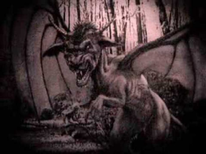 A depiction of the Jersey Devil