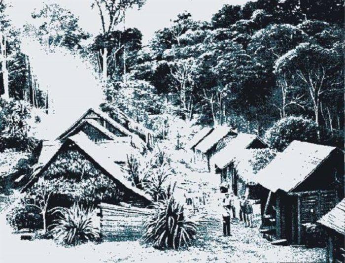 The village of Hoer Verde