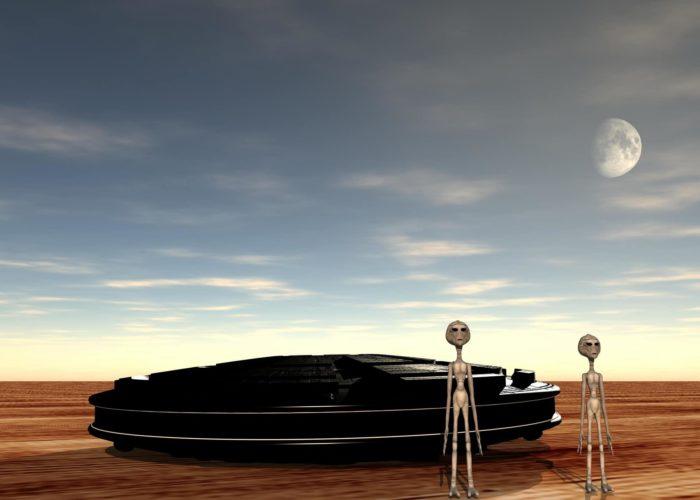 UFO Desert