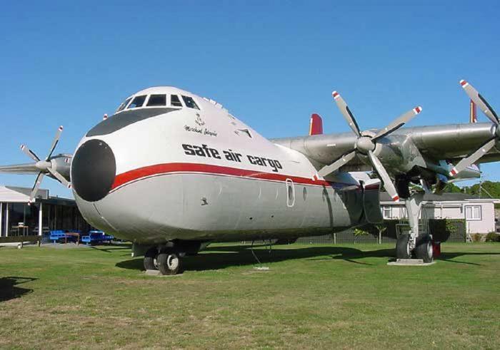 Argosy Safe Cargo Plane