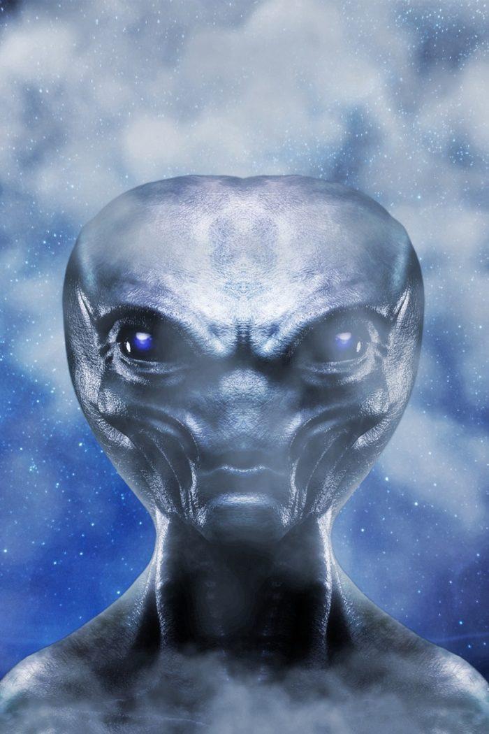 A perception of an alien being