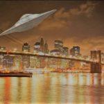 UFO Brooklyn Bridge