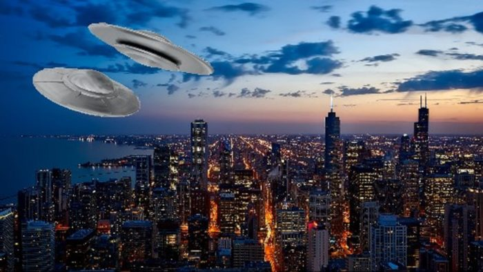 UFOs Over Chicago