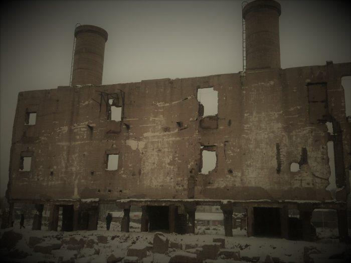 Remains Of Unit 731 Base