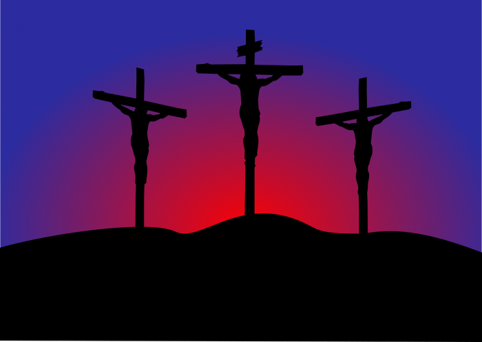 A depiction of the Crucifixion