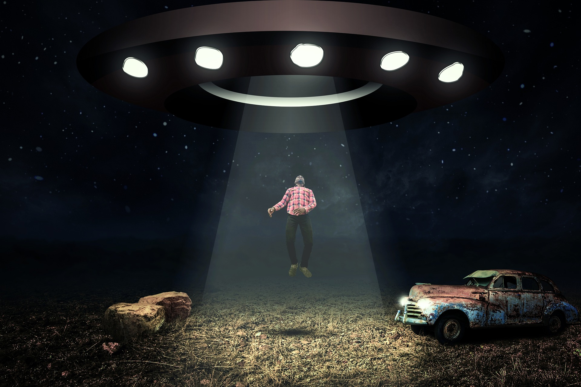 квантовая картинки нло с человеком после