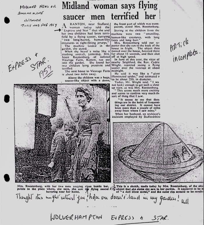 "A local newspaper ""proof sheet""of Jessie Roestenberg's encounter (below)"