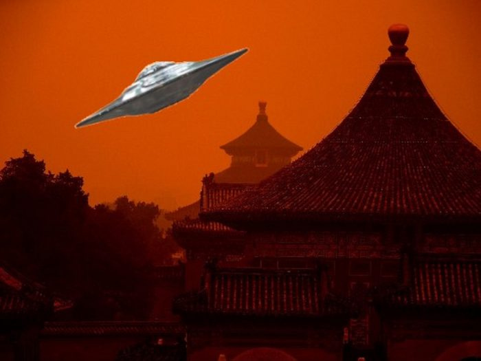 China Temple UFO