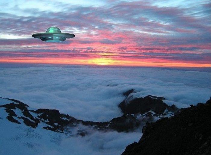UFO Mount Olympus