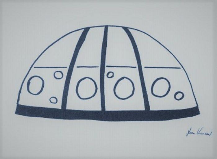 UFO Sketch Joan Vincent