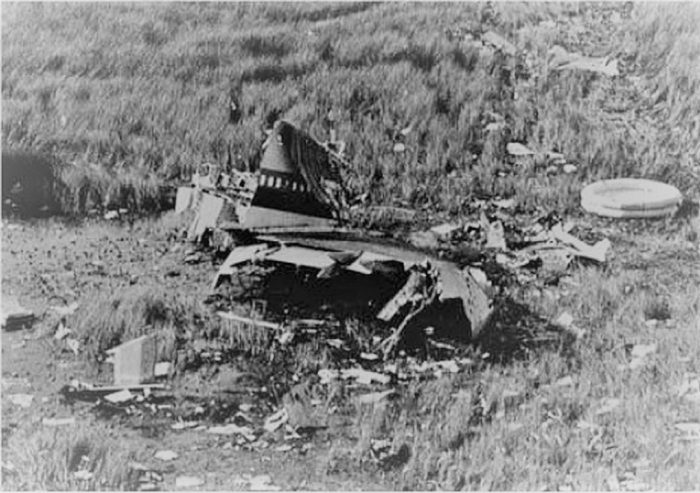 Wreckage Flight 401