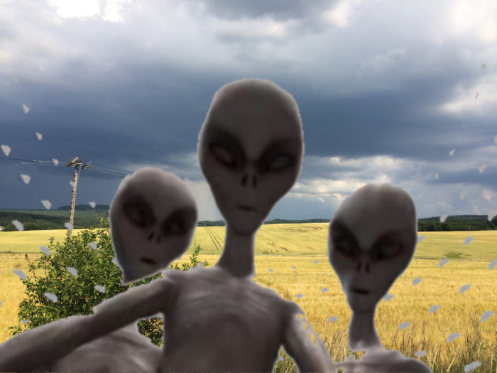 Tall White Aliens
