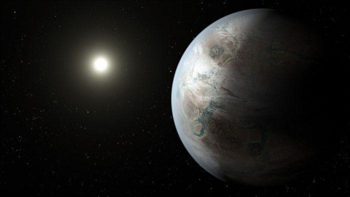 Artist-impression Kepler-452b