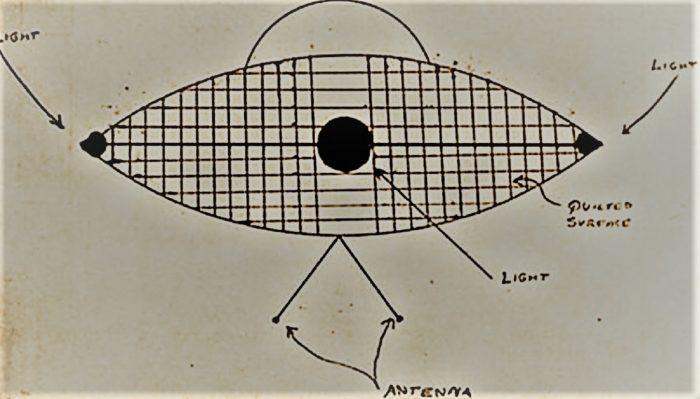 Michigan UFO Sketch