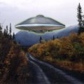North Canal Road UFO