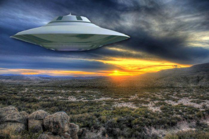 Texas Desert UFO