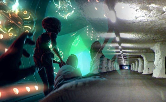 Underground Alien Base
