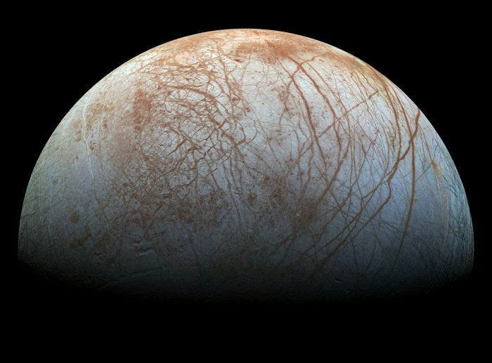Close-up of Europa