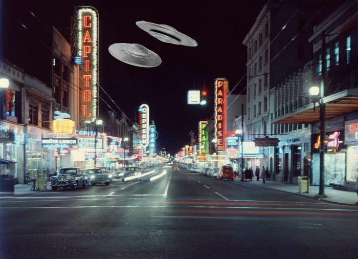 40s UFO Street