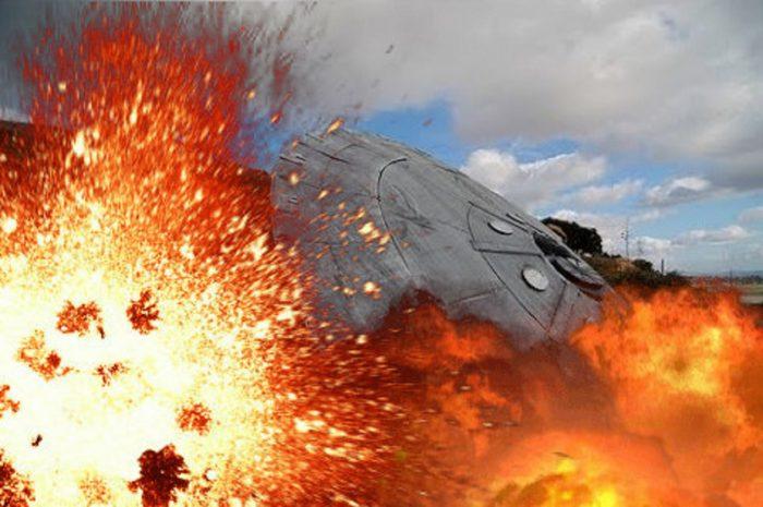 Argentina Crashed UFO
