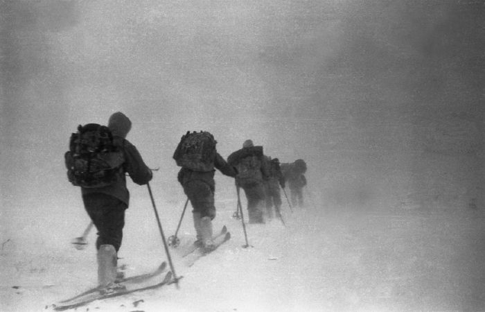 Dyatlov Ski Scene