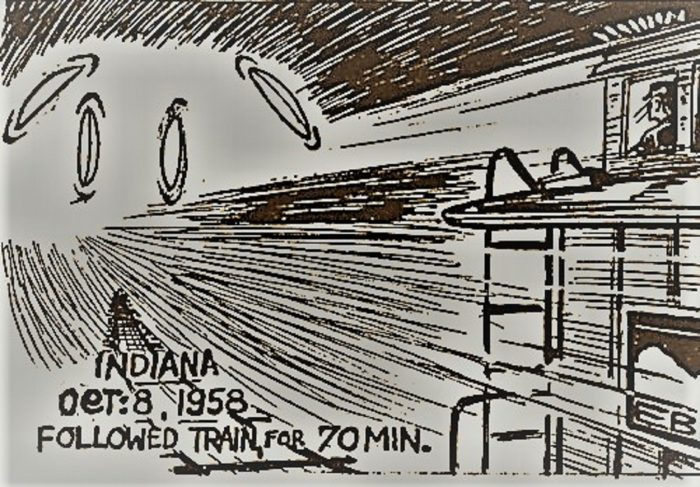 A sketch of the Monon railroad incident