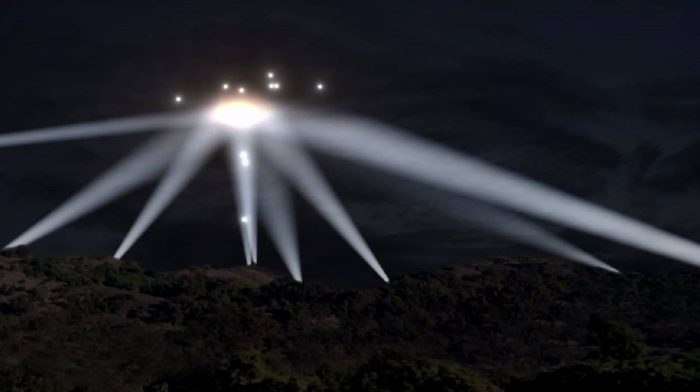 Colorized impression of the Battle of Los Angeles