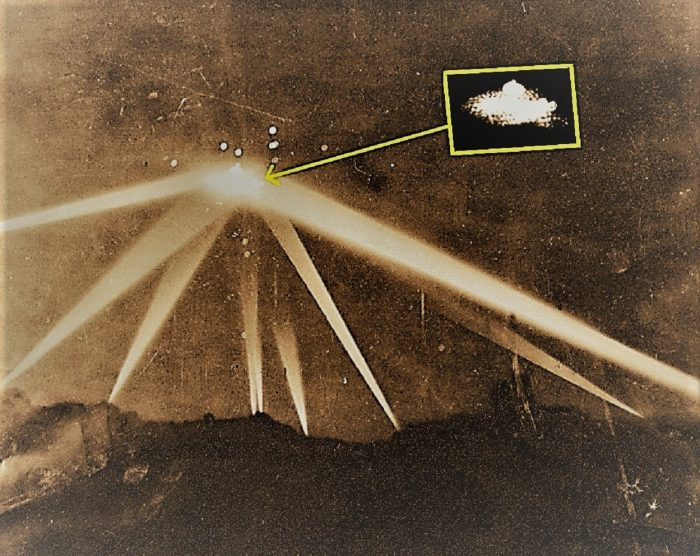 Close up of the Battle of Los Angeles image