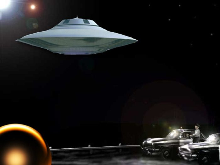 Red Bluff UFO