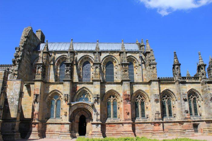 Rosslyn Chapel from the side