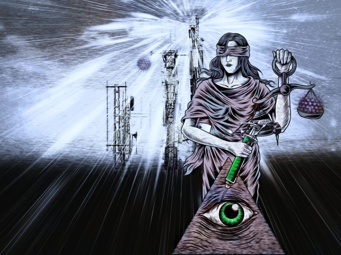 Depiction of 5G and the New World Order