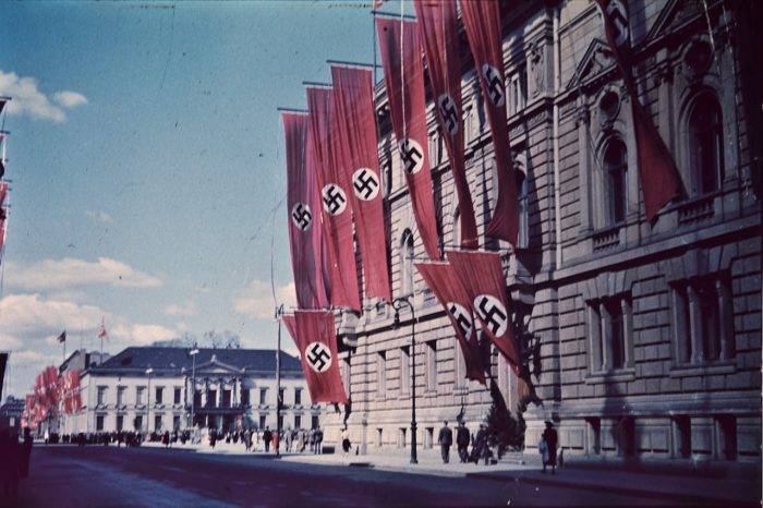 Typical display of the Third Reich