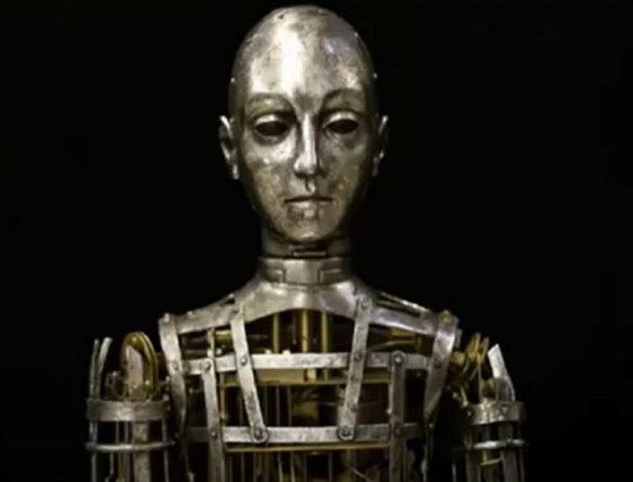 """A picture of a mechanical """"robot"""" of ancient times"""