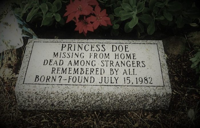 Princess Doe Gravestone