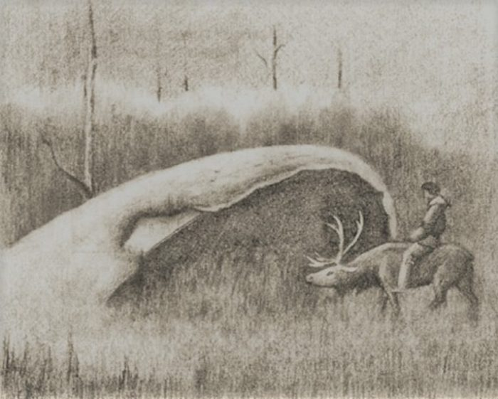 Tunguska Coldraun Sketch 1936