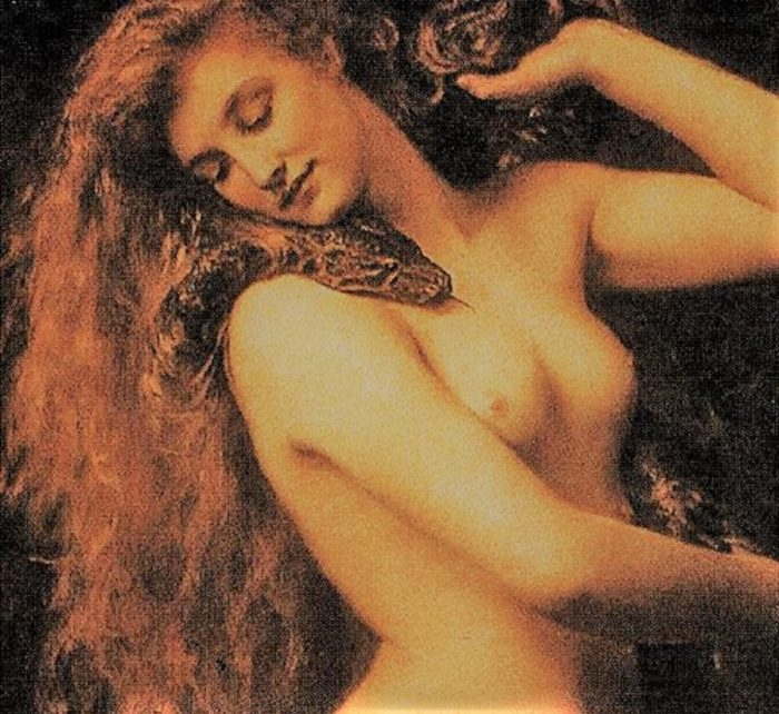 A depiction of the biblical Lilith