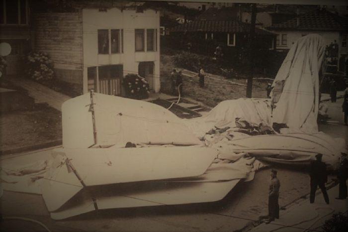 US Navy Blimp L-8 Crash Site