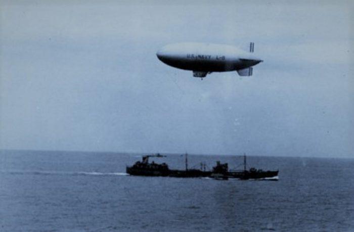 US Navy Blimp L-8 Patrol