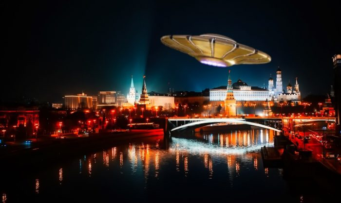 Russia UFO Moscow