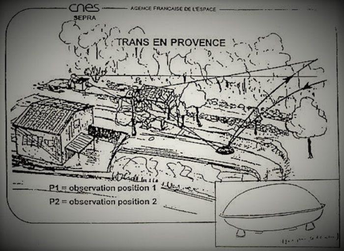 Trans-en-Provence Sketch