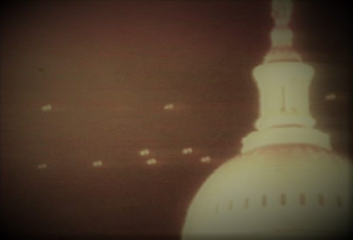 UFOs over the White House in 1952
